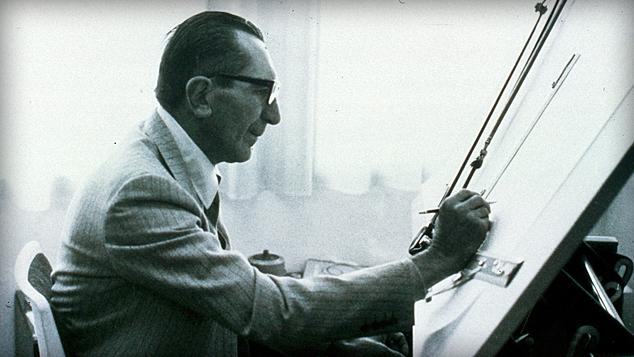 一手將DUCATI 送上世界舞台的天才工程師Fabio Taglioni,絕對是車廠歷史中最重要的人物之一